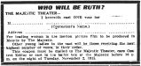 Who will be Ruth? coupon