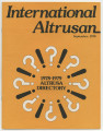 International Altrusan, 1978-09