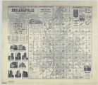 Dreher's mile square index and distance map of the city of Indianapolis : America's greatest...