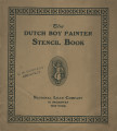 Dutch Boy painter stencil book