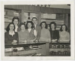 Ball State Teachers College,  Bookstore employees' group portrait