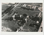 Ball State Teachers College, Aerial view with Beneficence