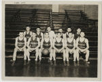 Indiana State Normal School, Eastern Division, Men's basketball team portrait