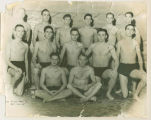 Ball State Teachers College, Men's swim team portrait for 1940-1941