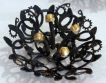 Material Mourning Corsage Brooch II