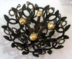 Material Mourning Corsage Brooch III