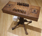 New age victorian chess table