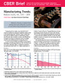Manufacturing trends : Madison County, Ind., 1973-2009