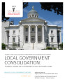 Local government consolidation in New Jersey : potential savings due to economies of scale and...