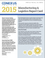 2015 Manufacturing and logistics report card