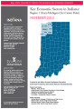 Key economic sectors in Indiana : regions 1, 2, 3, and 4