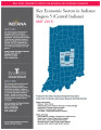 Key economic sectors in Indiana : regions 5, 6, 7, and 8