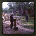 John Emens speaking at Ball State University Life Science Building groundbreaking ceremony