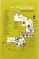 1966 Ball State University campus map