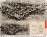 1946 Future aerial view of the campus Ball State Teacher's College, Muncie, IN