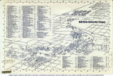 1980 Ball State University campus map