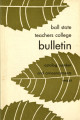 1955-1957 Ball State Teachers College bulletin and course catalog