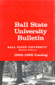 1965-1966 Ball State University bulletin and course catalog