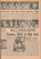 1961-04-07 Ball State news, Vol. 40, No. 23
