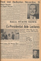 1961-11-14 Ball State news, Vol. 41, No. 13