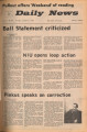 1972-01-07 Ball State daily news, Vol. 51, No. 89
