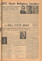 1958-10-31 Ball State news, Vol. 38, No. 14