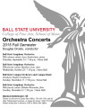 Orchestra concerts : 2015 Fall semester