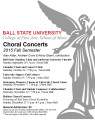 Choral concerts : 2015 Fall semester