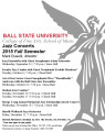 Jazz concerts : 2015 Fall semester