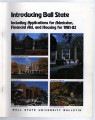 Ball State University bulletin, Vol. 55, No. 03