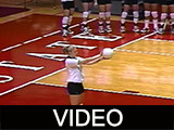 Ball State University Cardinals vs. Kent State University Golden Flashes women's volleyball, 1999