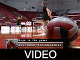 Ball State University Cardinals vs. Quincy University Hawks men's volleyball, 2001