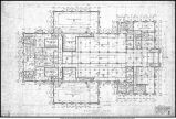 Ball Teachers College, Eastern Division, Indiana State Normal School, Gymnasium - Basement plan
