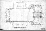 Ball Teachers College, Eastern Division, Indiana State Normal School, Gymnasium - First floor plan