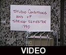 Studio conditions at end of Spring semester 1990