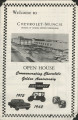 Welcome to Chevrolet-Muncie open house pamphlet and tour map