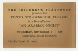 An Arabian Night child ticket
