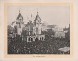 Immense crowd at the World's Columbian Exposition