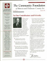 Community Foundation of Muncie and Delaware County 1996, Vol. 11, No. 04 newsletter