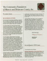 Community Foundation of Muncie and Delaware County 1989-06 newsletter
