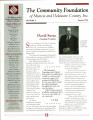 Community Foundation of Muncie and Delaware County 1996, Vol. 12, No. 02 newsletter