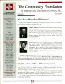 Community Foundation of Muncie and Delaware County 1997, Vol. 12, No. 02 newsletter