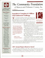 Community Foundation of Muncie and Delaware County 1998, Vol. 13, No. 03 newsletter