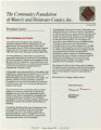 Community Foundation of Muncie and Delaware County 1989-12 newsletter
