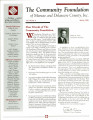Community Foundation of Muncie and Delaware County 1998, Vol. 13, No. 04 newsletter