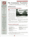 Community Foundation of Muncie and Delaware County 1999, Vol. 09, No. 03 newsletter