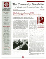 Community Foundation of Muncie and Delaware County 1999, Vol. 09, No. 04 newsletter