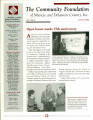 Community Foundation of Muncie and Delaware County 2000, Vol. 10, No. 02 newsletter