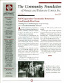 Community Foundation of Muncie and Delaware County 2002, Vol. 12, No. 01 newsletter
