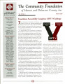 Community Foundation of Muncie and Delaware County 2002, Vol. 12, No. 04 newsletter